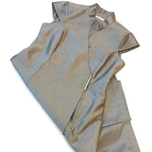 Calvin Klein Business Casual Wrap Dress